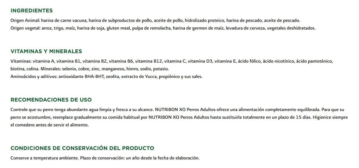 Nutribon-XQ-Adulto-Ingredientes