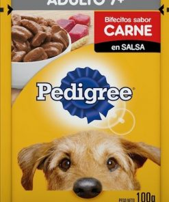 Pouch Pedigree Adulto +7 Carne