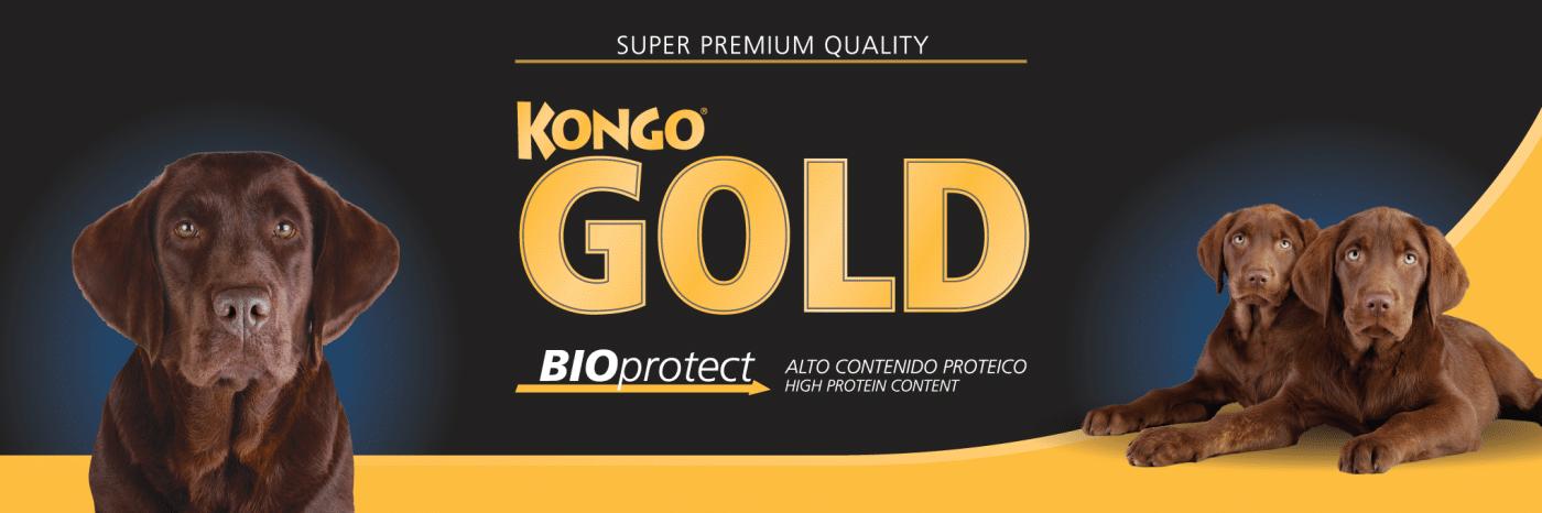 Kongo Gold Mordida Pequeña 15kg