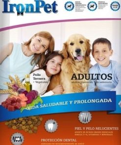 iron pet adulto bolsa