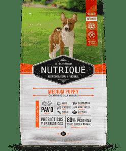 Nutrique cachorro raza mediana