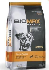 biomax raza pequeña paraiso de mascotas