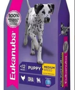 eukanuba raza mediana cachorro paraiso de mascotas parana