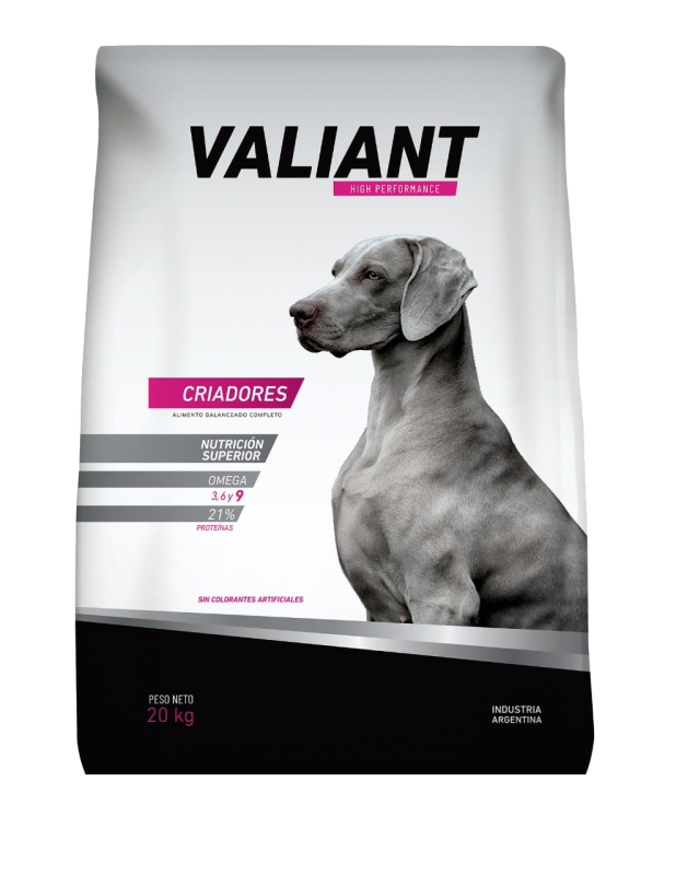 valiant adulto high performance paraiso de mascotas